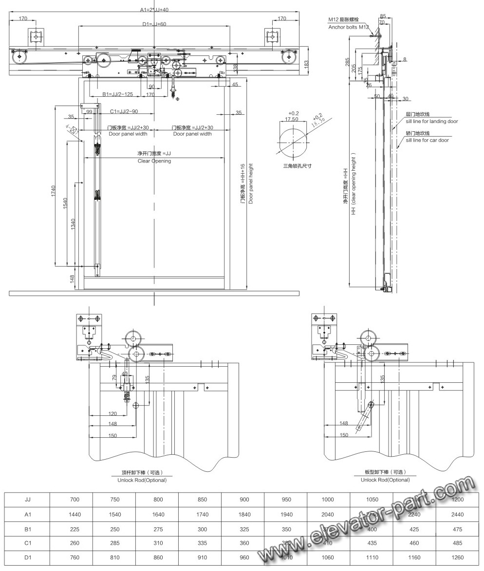 Mitsubishi Door Panel Diagram Electrical Wiring Diagrams Torque Converter Elevator Panels Free Download Motor Mount Centre Opening Landing