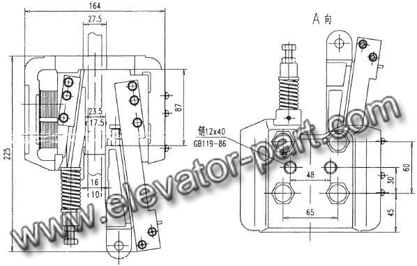 safety gear progressive safety gear supplier progressive